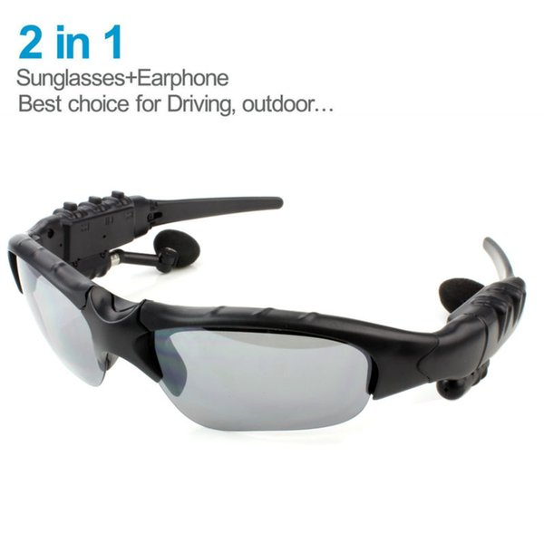 4a06b8db70dd Sunglasses Headsets Smart Wear Glasses Wireless Bluetooth Headphones  Handfree Earphone For iOS Anroid phones Polarized Driving