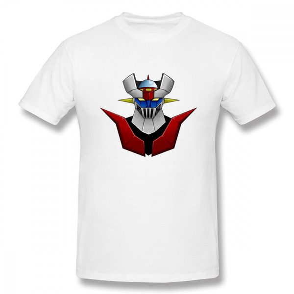 For Man Mazinger Z Tee Shirt Summer Mazinger Z Casual Top Design Round Neck Tees Hot Sale