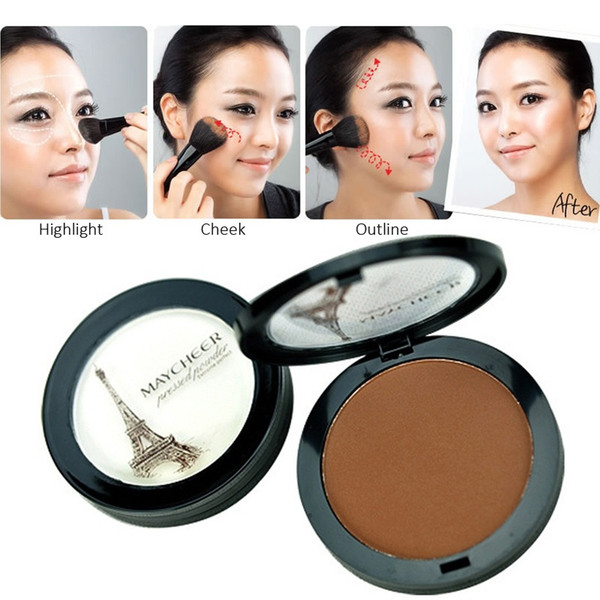 Maycheer Extreme Perfect Pressed Powder Charming Matte Face Contour Finishing Powder Facial Compact Makeup Branded Make up