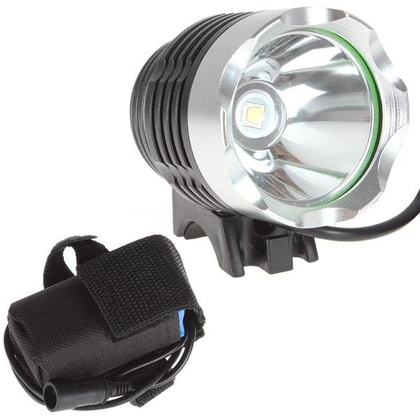 1800 Lumens CREE XM-L T6 LED Bicycle Headlamp Headlight Bike Front Flash Light With Rechargeable Battery Pack