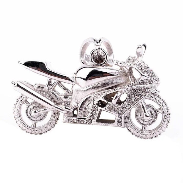 Fashion Jewelry 316L Stainless steel Wonderful Style Mens Motorcycle Pendant Good Quality Crystal Stone Biker Mens Pendant
