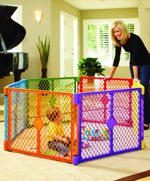 best selling Baby Playpens Activity & Gear plastic fence bar folding portable fences baby educational barrera barriere piscina de bolas sale