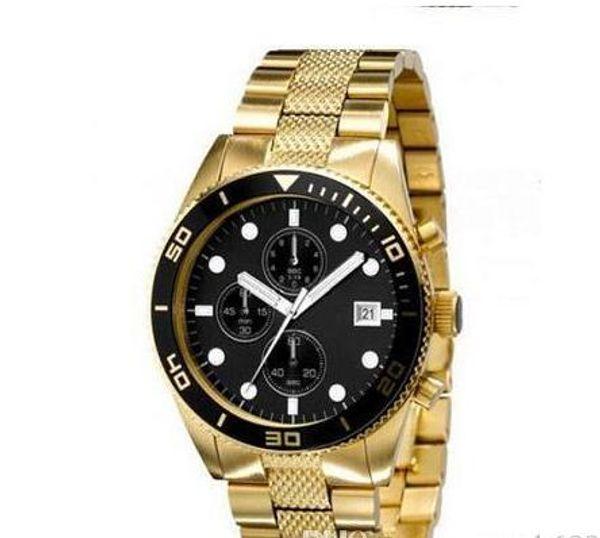 Top quality 2 YEAR WARRANTY Fashion quartz chronog watch mens wrist watches AR5857 wholesale free shipping