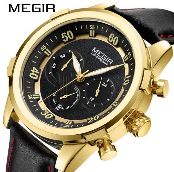 6dbc188adf7 Brw megir cronógrafo men sport watch relogio masculino moda militar do  exército de quartzo relógios de