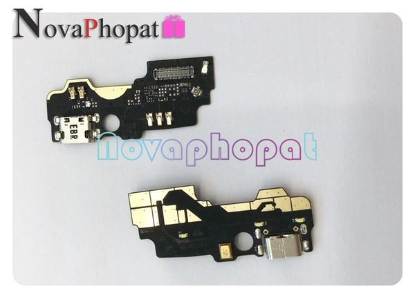 Novaphopat Charger Port Flex For ZTE MAX XL N9560 USB Dock Charger Charging  Port Connect Connector Microphone Flex Cable Head Phone Cables Cheap Phone