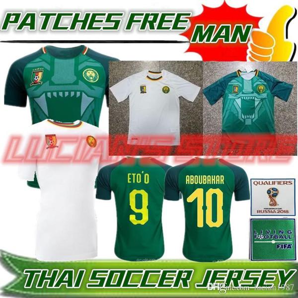 2018 2018 2019 Cameroon Soccer Jersey National Team Vincent Aboubakar  Clinton N'Jie Benjamin Moukandjo Jerseys Maillot De Foot Football Shir From