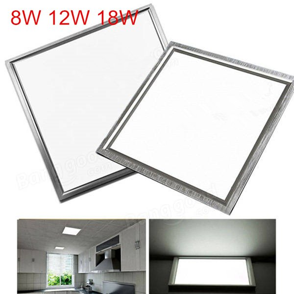 300 300mm Led Panel Light Embedded 8w 12w 18w Led Kitchen Lights Bedroom Lamp Office Lighting Integrated Ceiling Lights Downlights Direct Led