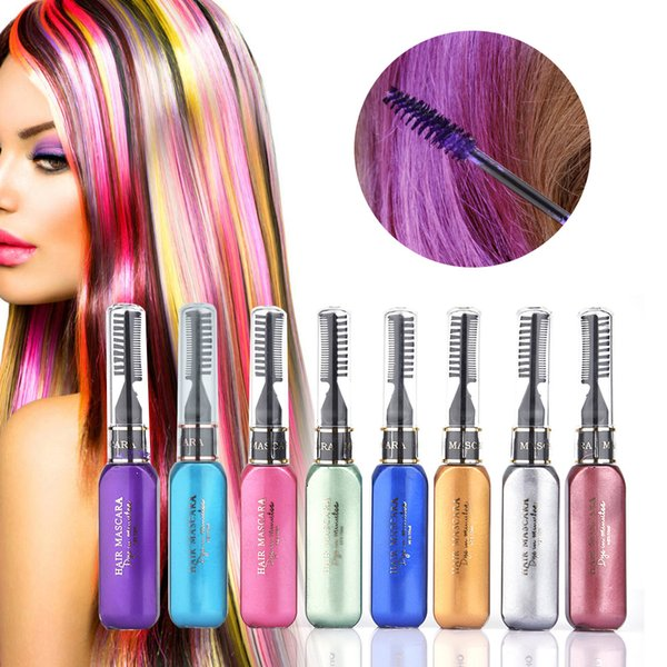 2019 Washable Color Hair Wax Styling Pomade Temporary Chalk Hair Dye ...