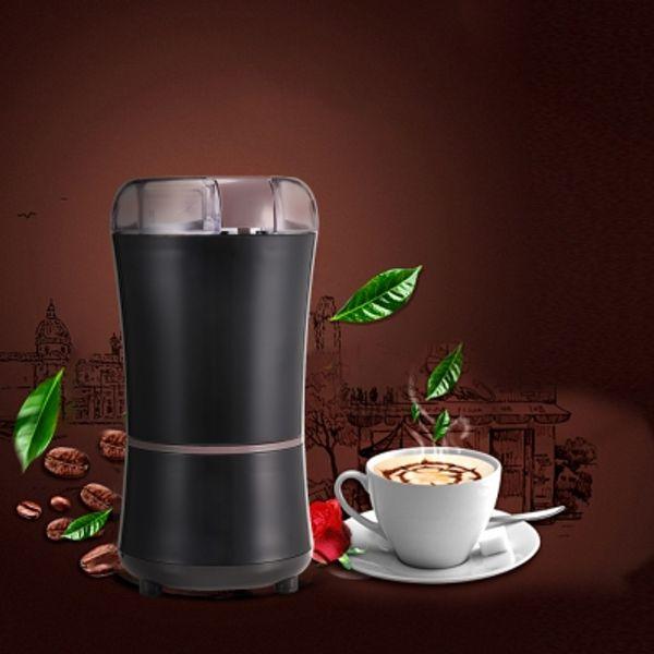 Ev Elektrikli Kahve Değirmeni Fasulye Kuru Taşlama Makinesi Paslanmaz Çelik Bıçak Fasulye Kuru Taşlama Makinesi Ev Mutfak Aletleri TTB