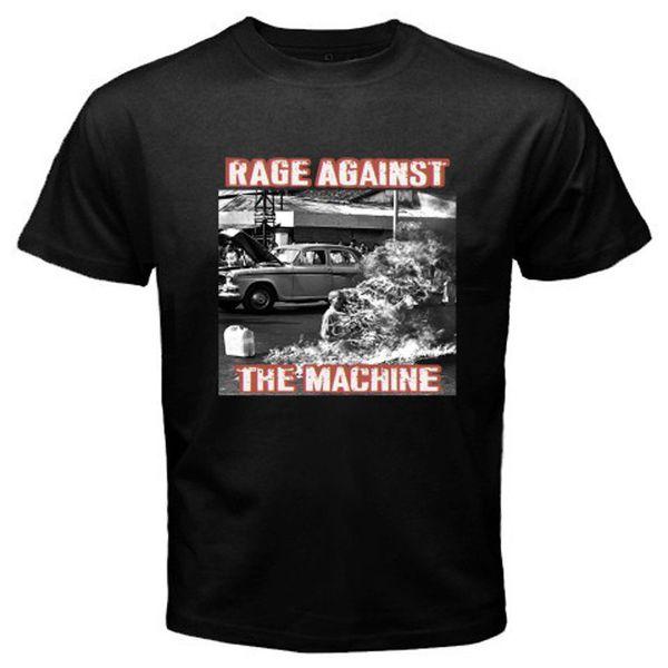 Новый гнев против машины Ratm рок-группа мужская черная футболка размер S-3xl с коротким рукавом хип-хоп Tee футболка топ Tee