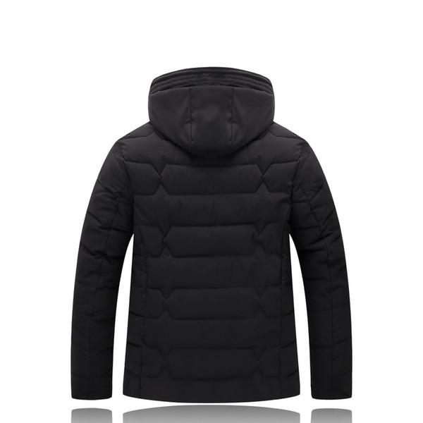 Plus Size 4XL-9XL Winter Jacket Men 2017 Black Male Coat Cheap Down Jacket Parkas Trench Hooded Camperas Snow Cold Jacket 1626