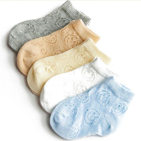 Frühling Sommer Hohl ultradünne Mesh Baby Socken Für Neugeborene Unisex Kind Kinder Infant Junge Mädchen Kurze Socken 2 Modelle