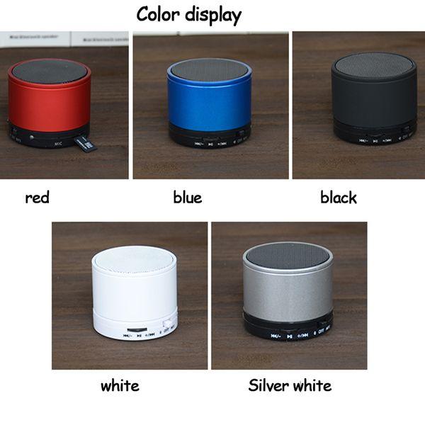 Pratik yeni kablosuz Bluetooth taşınabilir hoparlör mini Bluetooth silindir hoparlör kartı FM çağrı hoparlör üç paketlenmiş satış