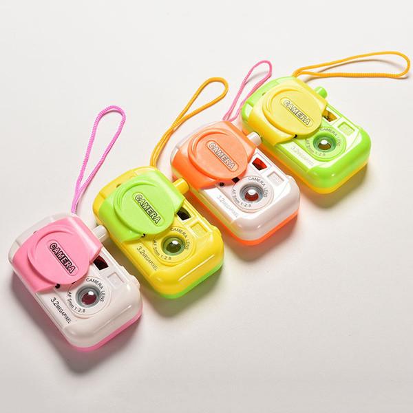 1PCS Colore casuale Baby Kids giocattolo di plastica macchina fotografica di simulazione intelligente fotocamera digitale studio per bambini giocattoli educativi regali