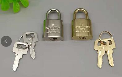 Cadeado de bagagem de homens de luxo fechadura de segurança fechaduras de metal e chaves Cadeado de mala. Cadeado para Bagagem Zipper Bag Backpack Bag Suitcase Drawer