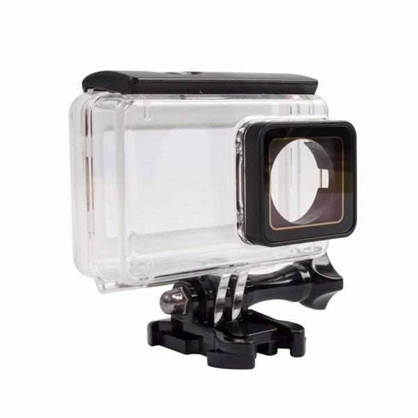 Xiaomi Mijia IP68 40M Caja protectora a prueba de polvo a prueba de polvo para Mijia 4K Acción cámara de deporte carcasa subacuática touchable