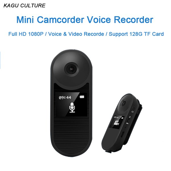 Mini Camera Full HD 1080P DVR Camera With Small Display Charing&Uninterrupted Recording Pen Voice Video Recorder Car Sport DV