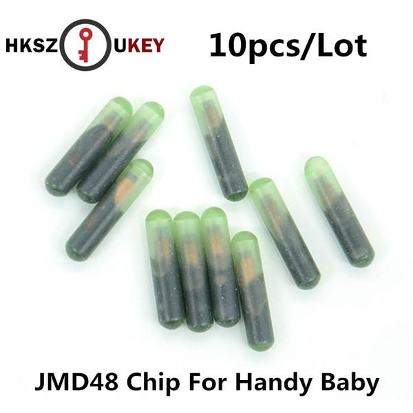 HKSZUKEY ID48 10pcs/lot ID48 Chip For CBAY Handy Baby Car Key Copy JMD Handy Baby Auto Key Programmer 48 Chip free shipping