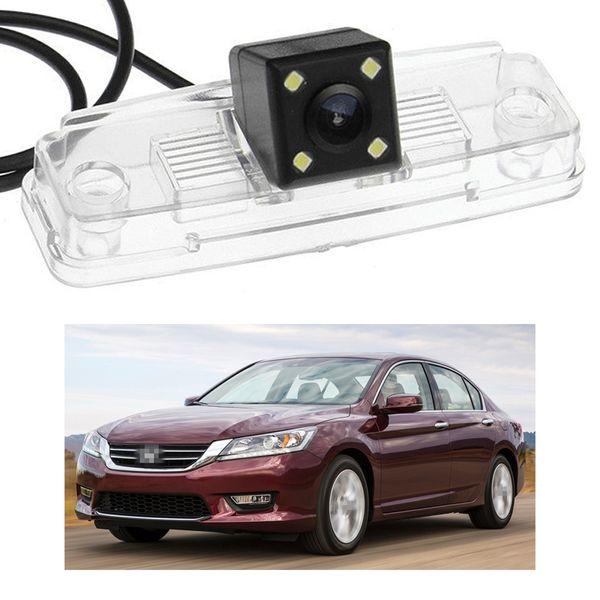 New 4 LED Car Rear View Camera Reverse Backup CCD fit for Honda Accord 2013 2014