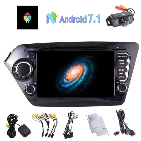 EinCar 8'' Android 7.1 Double Din In Dash Car Stereo Receiver for KIA K2(2011-2012) Autoradio Bluetooth MP3/MP4 car DVD player