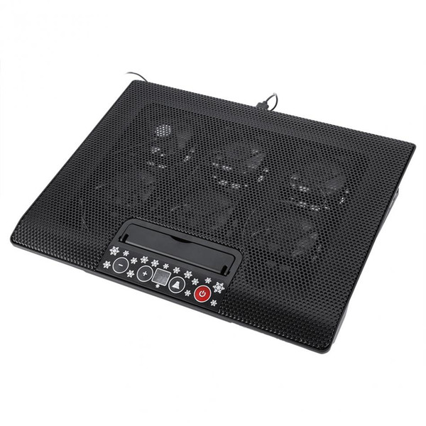 Under 17inch Laptop Notebook Cooler Cooling Pad Base USB Fans Adjustable Angle Mounts with Holder Stand Free Shipping