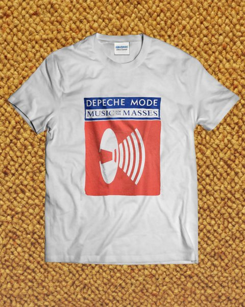 Vintage Depeche Mode 1987 Music For The Masses T-Shirt Reprint size S to 2XL 2018 New Men tee 2018 fashion T-Shirts