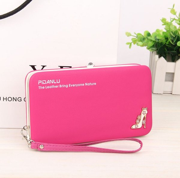 Top Quality Luxury Women Wallet Phone Bag Leather Case For iPhone 7 6 Plus For Samsung Galaxy S7 Edge S6 Huawei Xiaomi Redmi