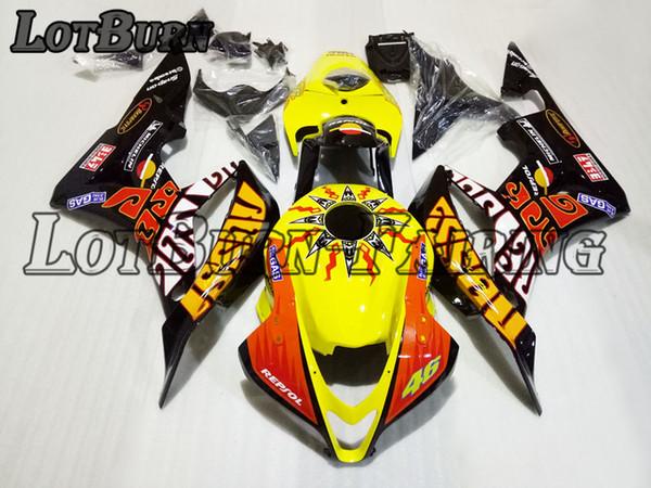 Moto Injection Molding Motorcycle Fairing Kit Fit For Honda CBR600RR CBR600 CBR 600 RR F5 2007 2008 07 08 Bodywork Fairings Custom Made 03
