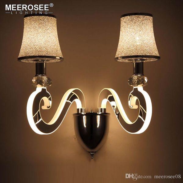 Modern Creative Wall Light LED Bedside Wall Lamp Bedroom Sconces Aisle Corridor LED Bra Wall Lighting