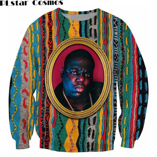 PLstar Cosmos Sweatshirt Notorious B.I.G. pull pull Biggie Smalls Sweats à capuche