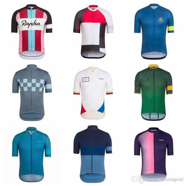 RAPHA equipe Ciclismo jersey homens roupas de bicicleta Respirável Quick Dry verão rápido e seco Mountain Bike Vestuário 853002