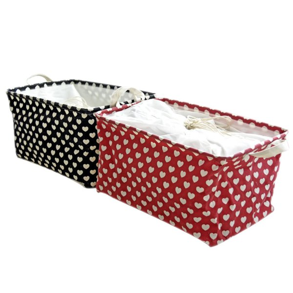 Drawstring Folding Storage Baskets Laundry Basket Linen Waterproof Dirty Clothes Barrel Laundry Hamper Storage Box