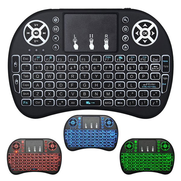 Mini 2.4Ghz 83 Keys Wireless Keyboard Touchpad w// Mouse Mice for PC PS4 Smart TV