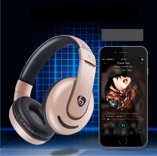 Bluetooth Headphones Wireless Foldable Hi-fi Stereo Headphone for Smart Phones & Tablets with Retail box DHL Free Shipping