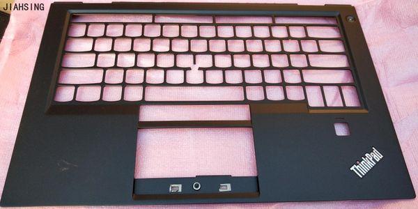 95%New top cover for Lenovo ThinkPad X1 Carbon X1C 4th Gen palmrest upper case SB30K59265 460.04P08.0015 small Enter Key Black