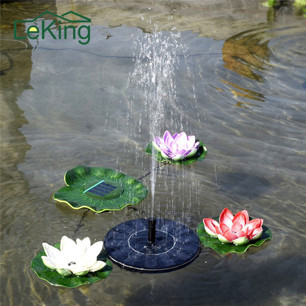 Solar Water Fountain Solar Garden Fountain Artificial Outdoor Fountain For Home Family Garden Park Decoration