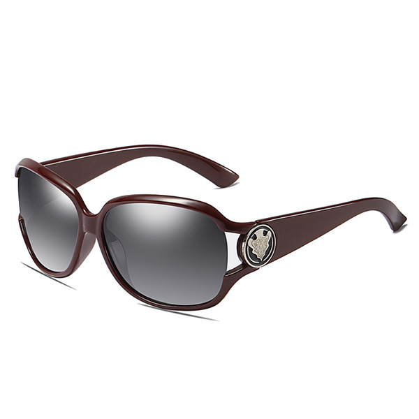 SAOYH Hot Polarized Women Sunglasses ,Wild Anti-glare Sunglasses UV 400 Protection Dress Women Eyewares,lentes de sol