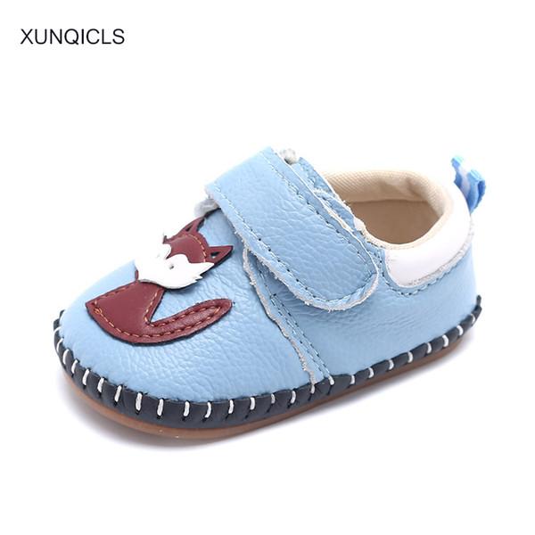 XUNQICLS 2018 Spring Baby First Walkers Toddler Cartoon Cribe Shoes Soft Bottom Infants Kids Prewalker Shoe for Boys Girls