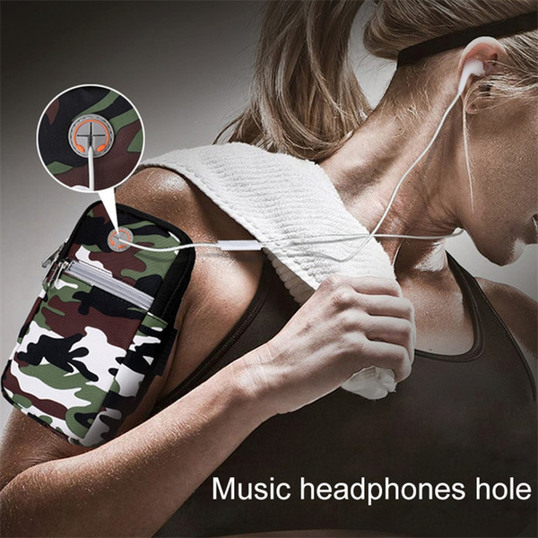 HAWEEL Universal 5.5 inch Phone Zipper Multi-functional Sport Arm Case bag w/h Earphone Hole For ,,Ulefone, DOOGEE