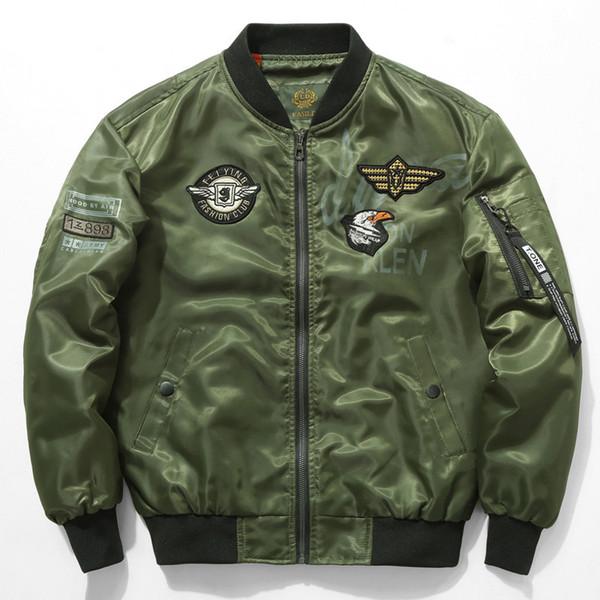 Giacche di pietra volanti per uomo giacche da uomo plus giacche da baseball ricamate giacche da studente giacche a vento ma1 giacca bomber da uomo kanye