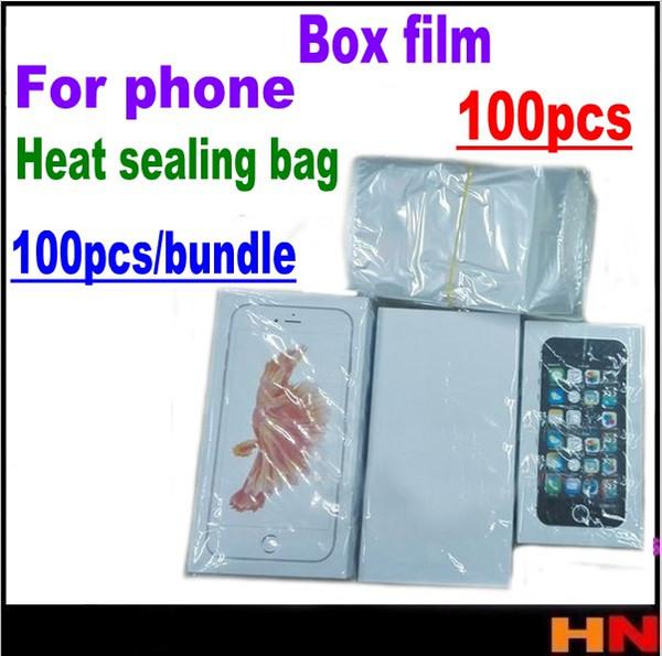 100 unids para iphone samsung ipad iwatch embalaje para teléfono móvil película retráctil Parafilm Bolsa de sellado térmico Parafilm envío gratis