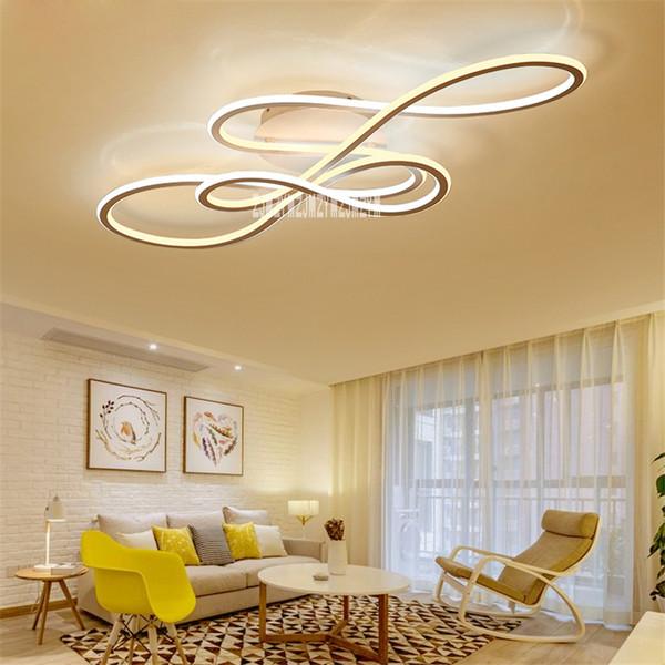 Großhandel YF17032 Einfache Moderne LED Deckenleuchte Hause Leuchten  Kreative Schlafzimmer Deckenleuchte Wohnzimmer Beleuchtung Led Licht Von  Fried, ...