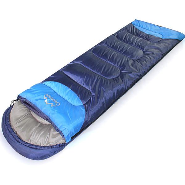 GYKZ 1.35/1.65kg Ultralight Warm Envelope Sleeping Bag 3 Seasons Cotton Splicing Sleeping Bag Adult Nap Lazy 210*75cm HY216