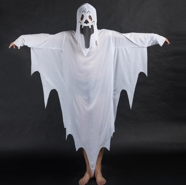 Halloween Costume Devil Cosplay White Ghost Of Terror Mummy Clothes Halloween Decoration Adults Children Roll Play