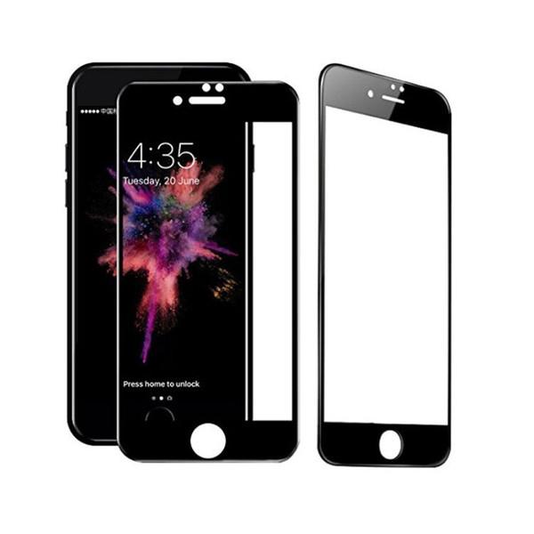 5 pcs 5d filme protetor de tela de cobertura completa para iphone x vidro temperado para iphone 8 screen guardian filme capa completa curvo