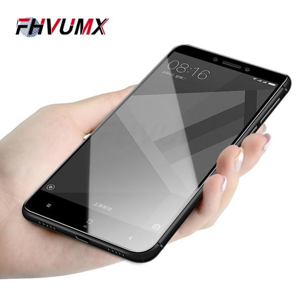 FHVUMX 9H capa de vidro de proteção para Xiaomi Redmi 4 4A Redmi 4X protetor de tela de vidro temperado para Nota 4 4X
