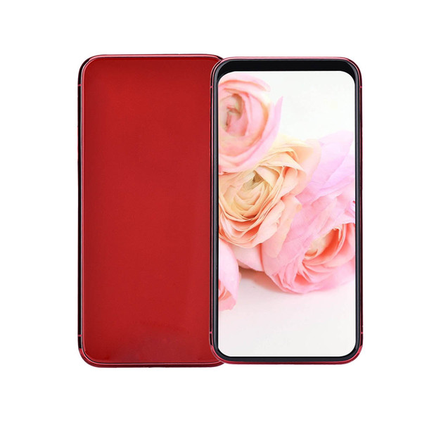 Red Goophone XS iXS V3 3G WCDMA 5.8 inch All Screen Face ID Wireless Charging Quad Core MTK6580 1GB 8GB+32GB GPS WiFi 8MP Camera Smart Phone