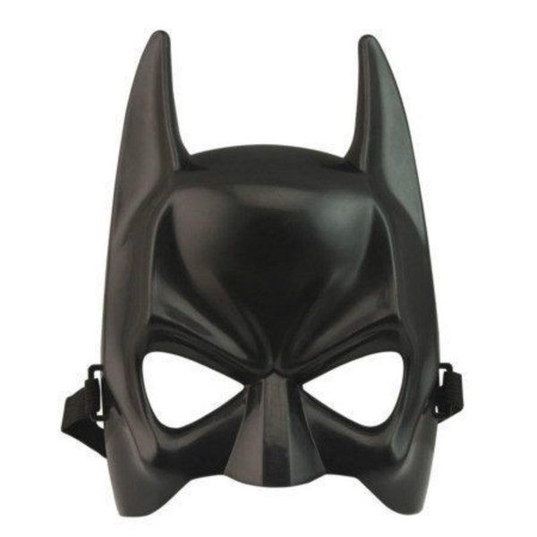 New Christmas Batman mask for kid & adult party mask Half face Hard shell Batman cartoon anime show mask for Childrens day
