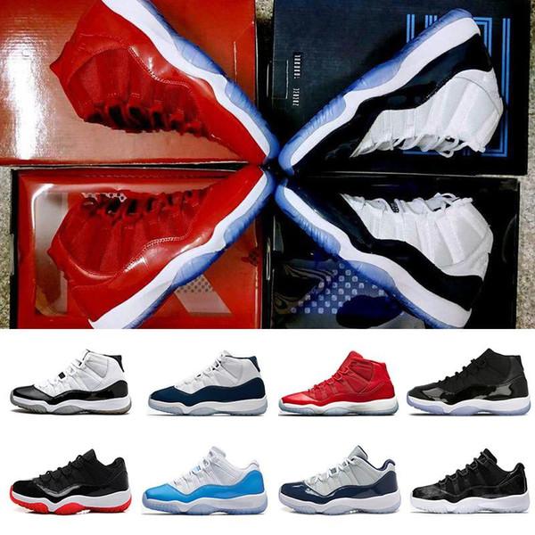 Neue 11 Männer Frauen Basketball Schuhe Space Jam 11 weiß schwarz grau blaugrün s 11s Trainer Herren Sneakers Größe 5.5-13