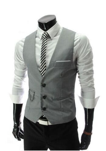 Latest Coat Pant Designs Ivory Burgundy Black Grey men Suit vest waistcoat Groom Wedding Waistcoat Male Slim Fit Vests Stock 01X